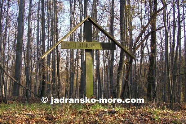 Kaluđerov grob na Moslavačkoj gori